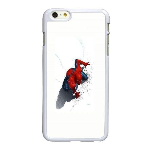 L1Y96 Spiderman couvercle Comic E5K5WO coque iPhone 6 Plus de 5,5 pouces cas de couverture de téléphone portable coque blanche DI1BUY2MW