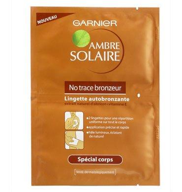 Lote de 10 toallitas Garnier Ambre Solaire no trace bronzeur