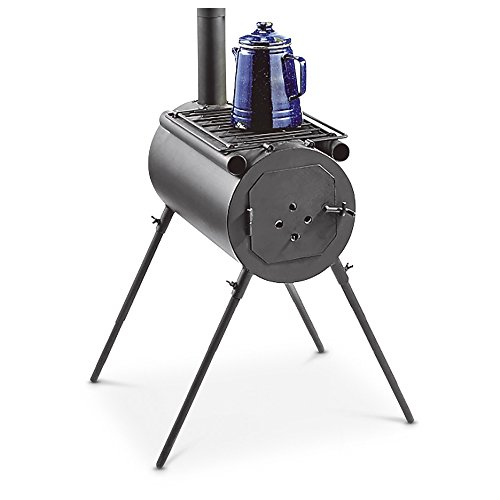 Barrel Outdoor Camping Stove by HQ ISSUE