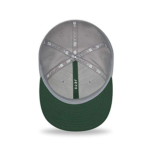 Cap 59fifty New Jets Road Era Grigio 18 Fitted York Field Sideline Nfl On Otc zS1qT