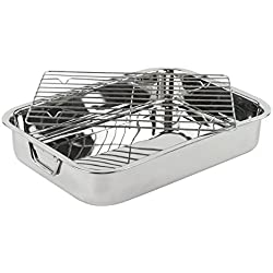 Heavy Duty Roasting Pan with Rack