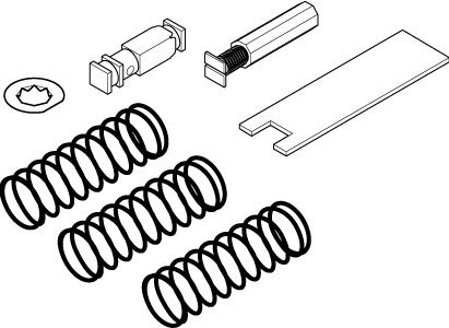Schneider Electric Barber Colman LINKAGE FOR MK-2690 WITH VB-9000 & VB-7000 1/2-1-1/4 INCLUDES 3-7, 5-10, & 8-13 PSI SPRINGS from Schneider Electric Barber Colman