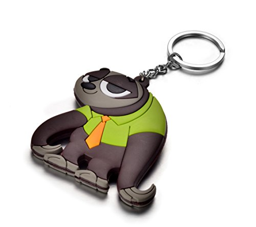 LOOMEN Zootopia Keychains and More Collection (Flash Keychain)