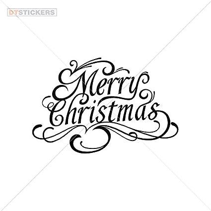 amazon vinyl stickers decals merry christmas lettering garage 1948 Dodge Truck vinyl stickers decals merry christmas lettering garage home window 30 x 19 6 in