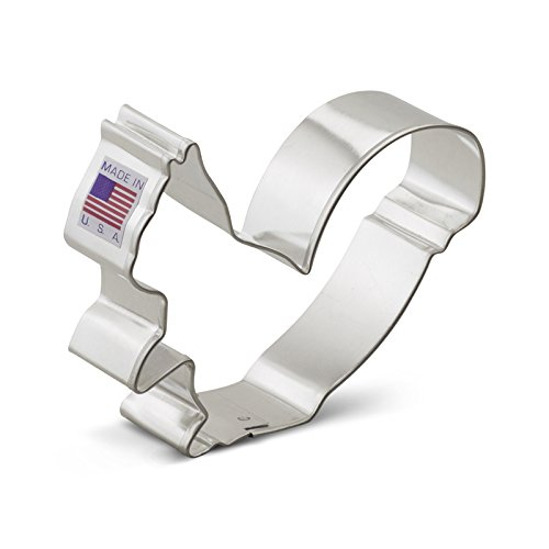 Ann Clark Squirrel Cookie Cutter - 3.5 Inches - Tin Plated Steel
