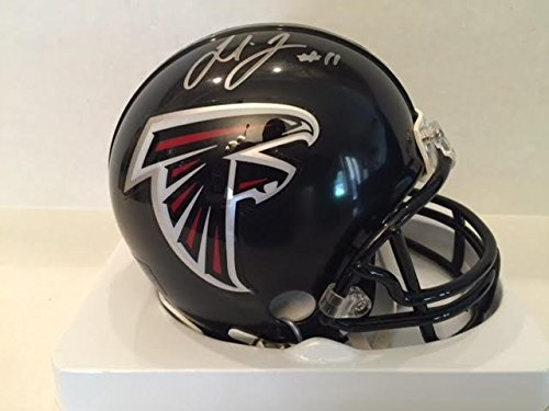 Julio Jones Signed Falcons Mini Helmet Riddell
