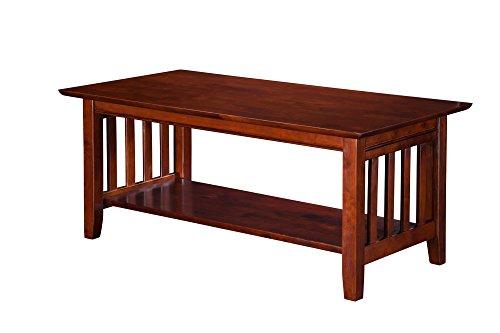 (Atlantic Furniture Mission Coffee Table Walnut/1)