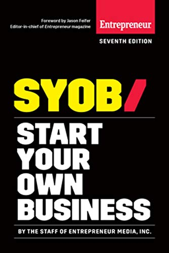 - Start Your Own Business: The Only Startup Book You'll Ever Need