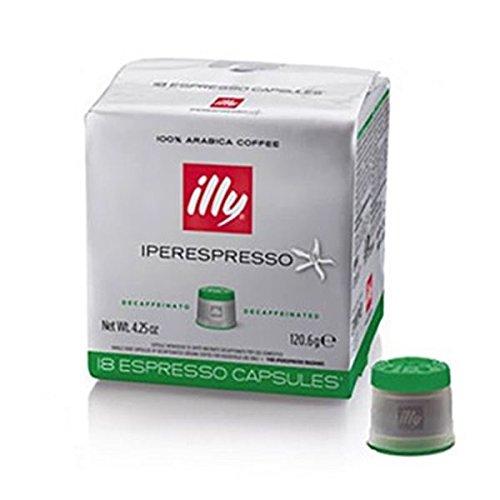 8 opinioni per 18 Capsule Caffe' Illy Iperespresso Espresso Decaffeinato