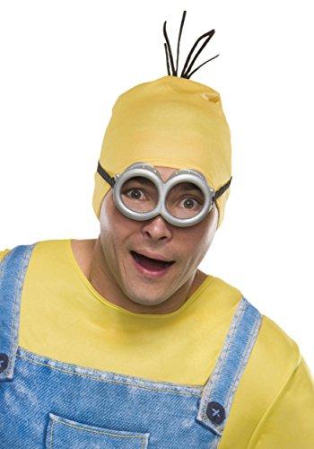 Rubie's Costume Co Men's Minion Stewart Headpiece, Yellow, One Size