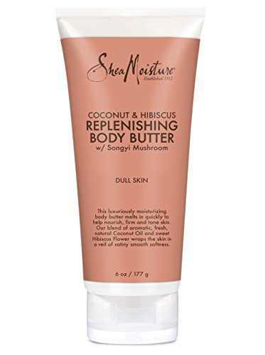 (SheaMoisture Coconut & Hibiscus Body Butter, 6 Ounce)