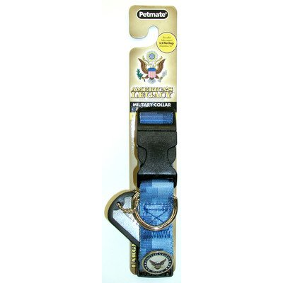 Petmate 03200 Aspen Pets Camouflage Dog Collar Color: Blue Navy