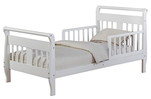 Angel Line Haley Toddler Bed, White -