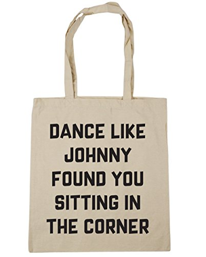 litres Johnny Natural Found the Sitting Bag Shopping You x38cm 10 42cm Corner Like Gym Beach Tote Dance HippoWarehouse in RUn1TRf
