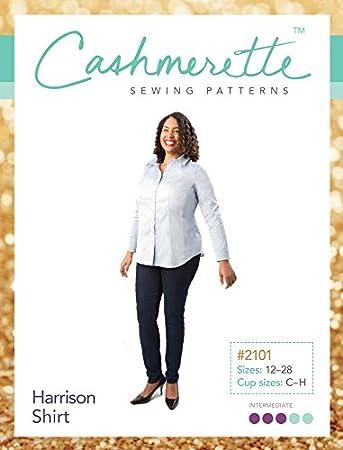 cashmerette Schnittmuster – Harrison Shirt Schneidern Muster: Amazon ...