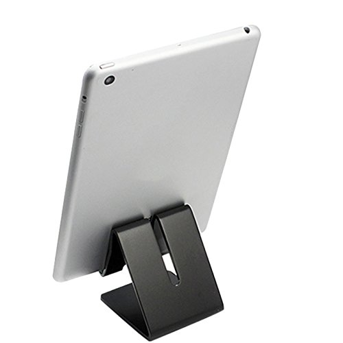 Tablet Stand,iBarbe iPad Stand, Desktop Holder Dock for iPad mini Air 2 3 4 Pro, iPhone 6 7 8 X Plus, Nintendo Switch Accessories, Samsung, Other Tablet (4-12 inch),e-readers more- ()