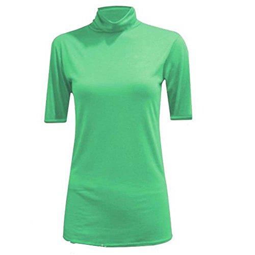 JAVOX Fashion's - Camiseta - para mujer verde oscuro