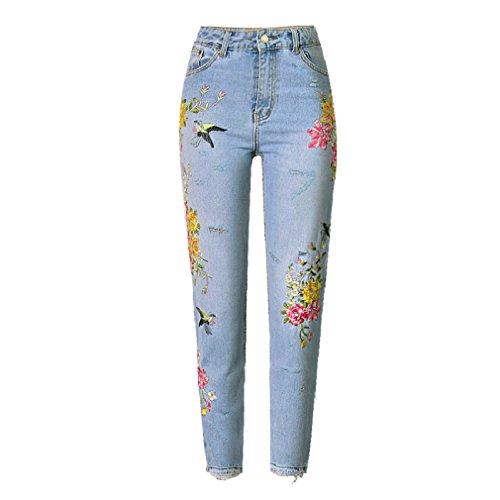 GTUFDRG bleu Femme Jeans ciel GTUFDRG Jeans 4wzOO