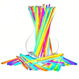 """Glow Sticks Bulk Party Favors 200pk - 8"""" Glow in The Dark Party Supplies, Light Sticks for Neon Party Glow Necklaces and Bracelets for Kids or Adults"""