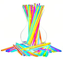 Brighten up any gathering with this party pack of premium, long lasting glow sticks! Choose from a rainbow of festive colors to create bracelets, necklaces & more.  On the hunt for party supplies or favors? PartySticks Assorted Glow Stick...