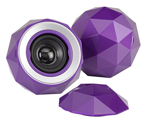 digital-treasures-09370-pg-lyrix-powerball-x2-bluetooth-speaker-purple