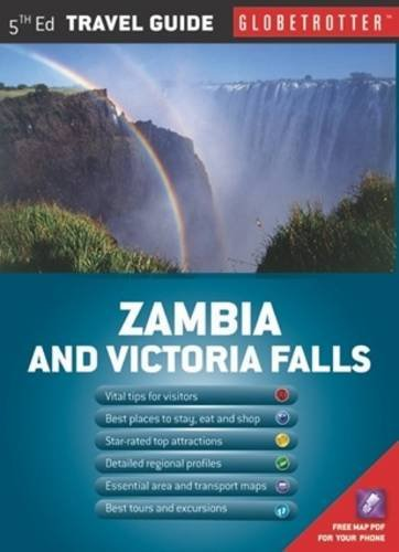 Read Online Zambia & Victoria Falls Travel Map, 5th (Globetrotter Travel Map) pdf