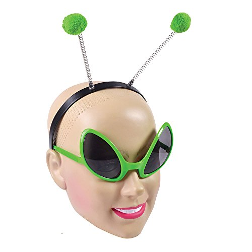 Alien Glasses And Headband Set