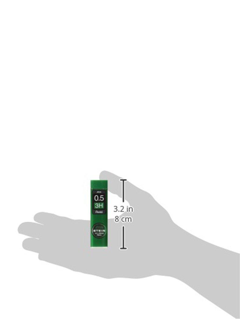 B Pentel C275-B Ain Stein Mechanical Pencil Lead 40-Leads 0.5mm