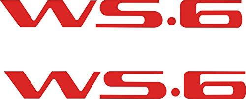 - Pontiac Firebird Trans Am WS6, Firehawk, Formula Door Handle Decals (Red)