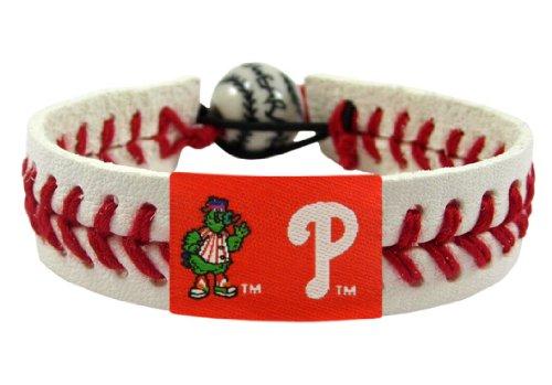 MLB Philadelphia Phillies Phillie Phanatic Mascot Classic Baseball Bracelet