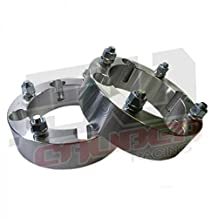 2 qty 4 x156 2in Wheel Spacers [5216] - Fits All Polaris RZR, RZR4, and Rangers Up to 2012 and some 2013