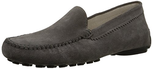 French Sole FS/NY Women's Stella Loafer - Grey Suede - 7....