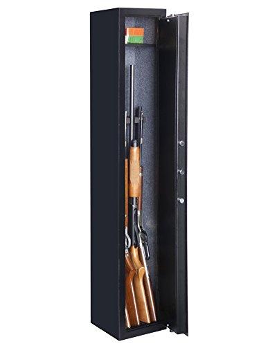 American Furniture Classics 905 Five Gun Safe, Black by American Furniture Classics (Image #1)