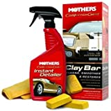 Mothers 07240 California Gold Clay Bar System isxVlF, 2Packs (Single Unit)