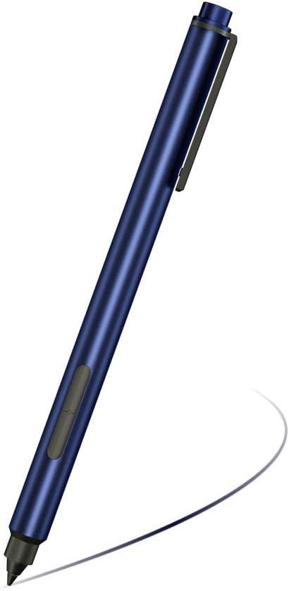 Stylus Active Pen for HP Pavilion x360 11m-ad0 14M-ba0 14-cd0 15-br0; HP Envy x360 15-bp0 15-bq0, x360 15-cn0, X2 12-e0xx,X2 12g0xx ; HP Spectre x360 13-ac0xx 15-blxxx with AAAA Battery & Nib (Blue)