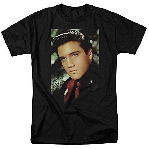 Elvis Presley - Red Scarf Smile - Adult T-Shirt - XL (Elvis Scarves)