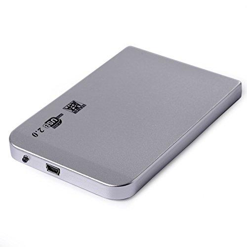 USB 2.0 2.5 Hard Drive SATA External Case Enclosure 2014 - 3