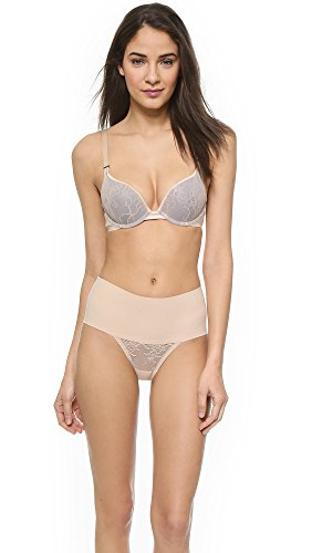 SPANX Women's Pillow Cup Lace Push Up Plunge Bra, Soft for sale  Delivered anywhere in USA
