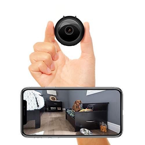Veroyi New Mini Hidden Camera Full HD 1080P WiFi Wireless Remote Security Camera Nanny Cam Home Surveillance Camera (Camera-04)