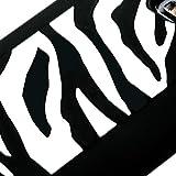 MYBAT SAMI727CASKPT004 Pastel Zebra Protective Case for Samsung Galaxy S2 Skyrocket i727 - 1 Pack - Retail Packaging - Black