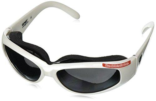 7eye by Panoptx Chubasco Frame Sunglasses with Gray Lens, Glacier White, - Dry Sunglasses Eye