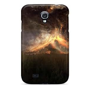 New Arrival Case Specially Design For Galaxy S4 (vulcano)