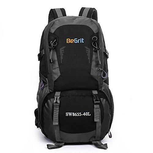 Begrit trekking 40litro per principianti Backpacker Outdoor campeggio viaggiare