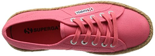Basses Baskets Pink Rosa Superga Cotropew Paradise Femme Pink Rose 2790 1xw1CgqEt