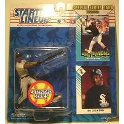 - Bo Jackson Action Figure in Chicago White Sox Uniform - 1993 Starting Lineup MLB Sports Superstar Collectible