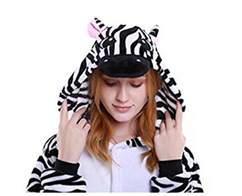 Taglia Della Festival Pantofole Di On Compatibile Ideali Con Bianca Morbido 36 Unicorno Fantasia Zebra Novità Adulti Natale 41 Kenmont Peluche Regali Europea Slip 6a4OUqq