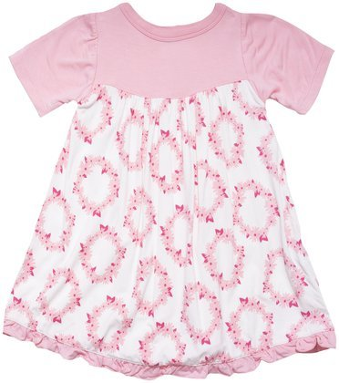 e5caf5880eaf Kickee Pants Print Swing Dress (Baby) - Daisy Crown-12-18 Months ...