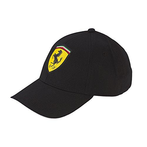 Ferrari Black One Size Kids' Classic Cap (Kids Ferrari Cap)