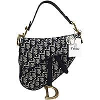 Yoome Women Designer Saddle Shoulder Bag Rivet Top Handle Handbag Crossbody Clutch Purse - Grey