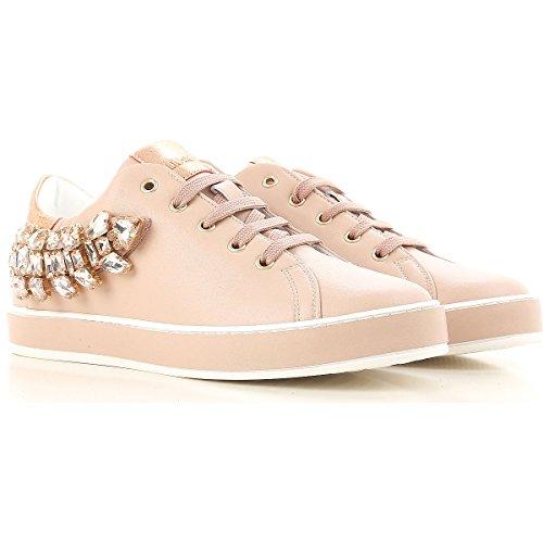 Sneaker Nude Liu Jo Pink Jeans Damen tnnFRUAq